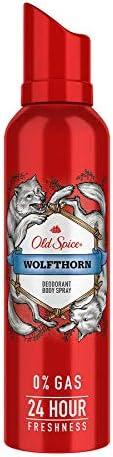 OLD SPICE Wolfthorn Deodorant/Body Spray - 0% Gas, 140 ML