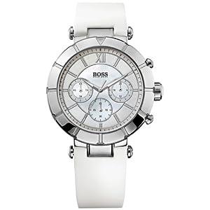 Hugo Boss 0 – Reloj de Cuarzo para Mujer, con Correa de Silicona,