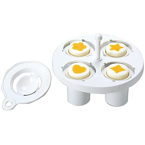 Hard Boiled Egg Mold for Creating Shapes with Egg Yolk, Made in Japan