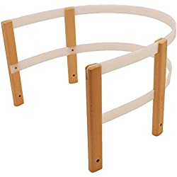 sulov Kid Seguridad Del Soporte Para trineo de madera, Infantil, Kids safety support for wooden sledges, Natural/White