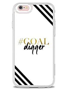 iPhone 6 6S Cases & Covers - Goal Digger - Designer Printed Hard Cases with Soft TPU Edges