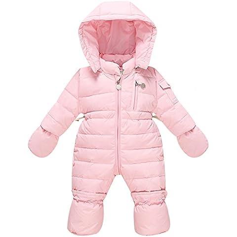 ZOEREA Trajes de nieve Traje infantil Pelele Para Bebés Snowsuit Traje de Esquí Para Bebés