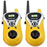 BookYourWish Walkie Talkie For Kids Two Way Radio Wireless Interphone Upto 100mtrs Long Range Battery Operated Durable Toy For Outdoor Adventures Camping And Hiking Camo 2 Pcs