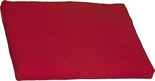 Polster Stuhlkissen Balkonkissen Rot Dralon Bezug 45 x 40 cm