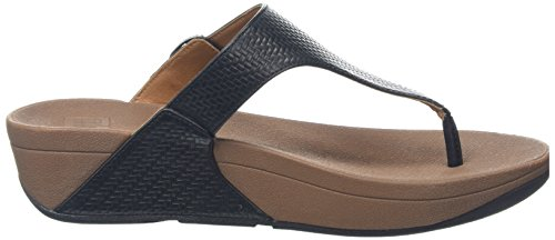 FitFlop The Skinny, Sandales  Bout ouvert femme Black (All Black)