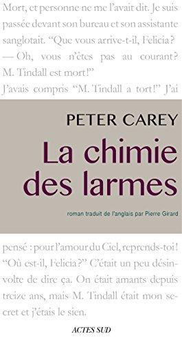 La Chimie Des Larmes Lettres Des Antipodes French Edition