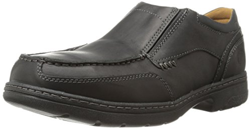 Timberland Pro Men's Branston Alloy Moc Toe S/O ESD Industrial Shoe,Black Distressed Leather,14 W US (Leather Boots Black Distressed)