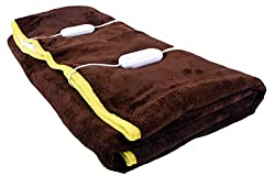 Warmland Double Bed Electric Bed Warmer - Coffee