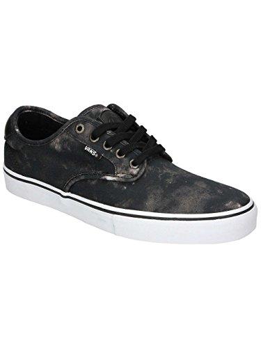 Vans  M Chima Ferguson, Herren Sneaker, Weiß (emulsion) black/white