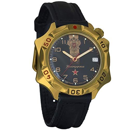Vostok / Wostok Komandirskie 2414 539792 Russisches Militär Mechanische Uhr