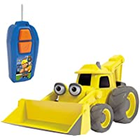 Bob the Builder - Radiocontrol monocanal Excavadora Scoop, 20 cm (Simba 3133001)