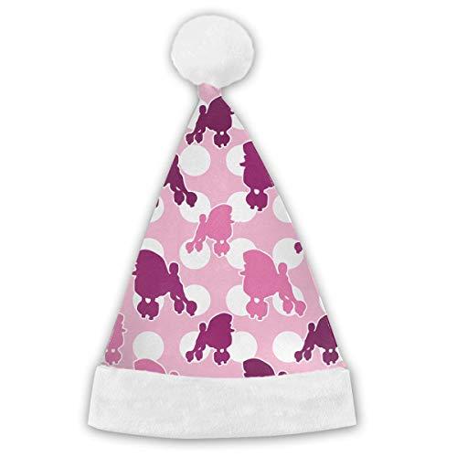 Kotdeqay Scottie Hund Erwachsene & Kinder Weihnachten Weihnachtsmann Hut Party Supplies Urlaub Thema Hüte Kostüm Weihnachtsdekoration Hot -