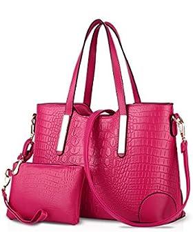 NICOLE&DORIS 2017 nuova spalla di modo coccodrillo delle borse del modello borse borsa diagonale big bag borsa...