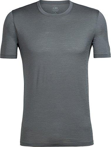 Icebreaker Herren Tech Lite Ss Crewe T-Shirt, Midnight Navy (Marineblau), Einheitsgröße Metal