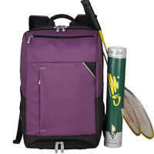 PACK Casual Sport Zaino Studente Badminton Tennis Racket Spalle Uomini E Donne Out Out Travel A:Purple