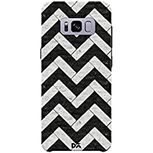 DailyObjects Marble Chevrons Mobile Case Cover for Samsung Galaxy S8 Plus Color-Multicolor