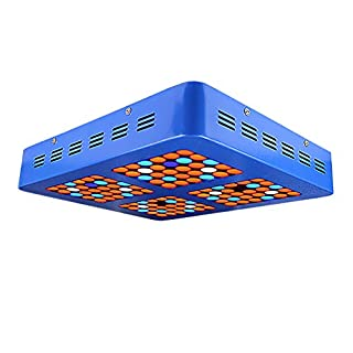 ZAOFAN Led plant grow light Full Spectrum Dual-Core Indoor Gardening Dapeng Farm Planting Nursery Flower Spray Tube Culture Cooling System Large Size: 365 * 300 * 60mm,1200Wdoublecore120lights