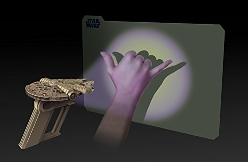 Uncle Milton Uncle Milton Star Wars Science Millennium Falcon UV Light Laser, Gray