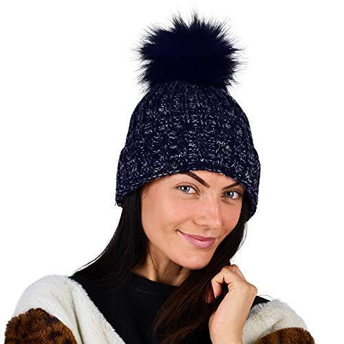 CityComfort Gorra Mujer Lana Gorro Mujer Niña Nieve