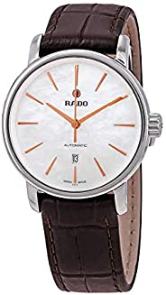 Rado Women's White Dial Color Leather Strap Watch - R1402