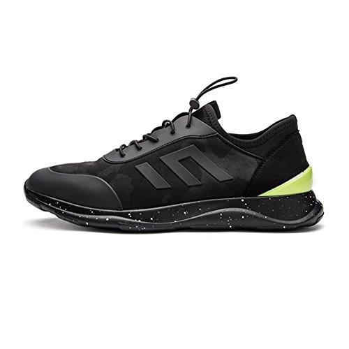 YIXINY Schuhe H30M7302 Sportschuhe Im Freien Wanderschuhe Schnürschuhe Basketballschuhe Sportschuhe Leicht Und Bequem Schwarz ( größe : EU39/UK6/CN39 )