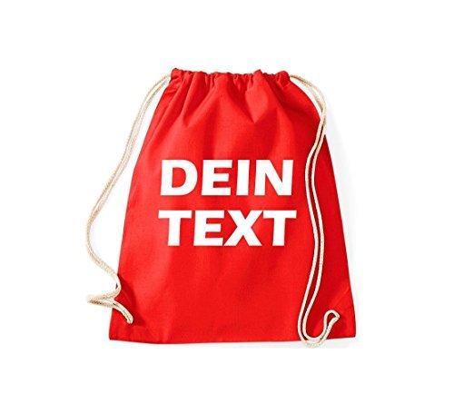 shirtstown Borsa Palestra con testo dotato ideale per tutte LA QUALCOSA ORIGINALE ricerca Rosso