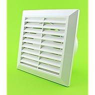 Classic ventilatore da bagno, Ø 100mm ventola bagno solo 10W Ventilatore soffitto Ventola Bianco 10cm WC100parete ventilatore ventola bagno cucina WC da incasso silenzioso Standart