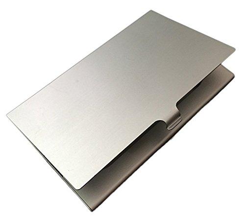 Nikgic Metall Kartenetui Aluminium Visitenkartenetui Card Case Kreditkarte Halter dünnes und stabiles