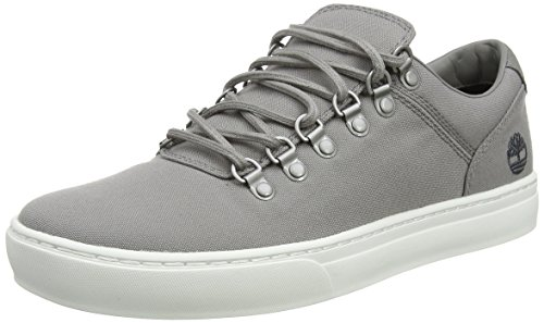 Timberland Adventure 2.0 Cupsole Fabric, Zapatos de Cordones Oxford para Hombre, Gris (Steeple Grey Canvas F49), 45.5 EU