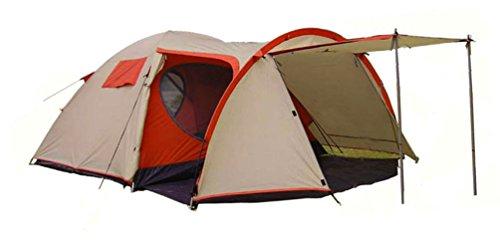 Tente de camping 3/4 places, tentes familiale de camping-Tundra