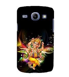printtech Lord God Ganesha Back Case Cover for Samsung Galaxy A7::Samsung Galaxy A7 A700F