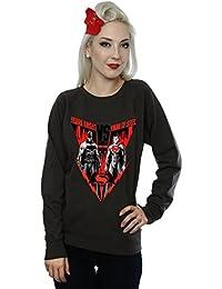 DC Comics Women's Batman v Superman Battle Sweatshirt