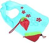 Faltbare Einkaufstaschen SKL ECO Taschen wiederverwendbare Erdbeere faltbar Einkaufstaschen Tote-10er-Pack - 3