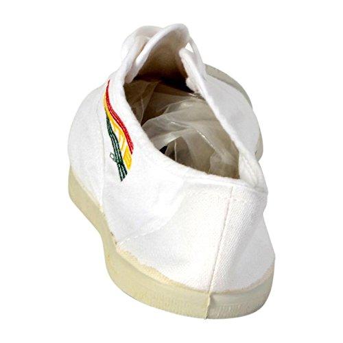 Basket Wati B Charlie Lacet Blanc Jamaïque Blanc