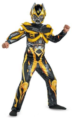 en Transformers 4Bumblebee Deluxe Kostüm (Bumblebee Boy Kostüm)