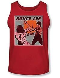 Bruce Lee - - Comic Panel Tank-Top pour hommes