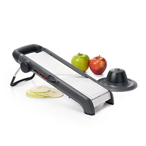 OXO Good Grips Profi-Rallador de Fruta y Verduras 2,0 - Mandolina Prof. Chef's 2,0 - Acero Inoxidable...