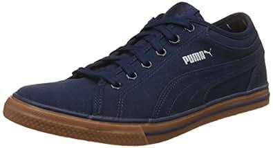 Puma Unisex Yale Gum Solid Navy Blue Sneakers - 5 UK/India (38 EU)(36613705)
