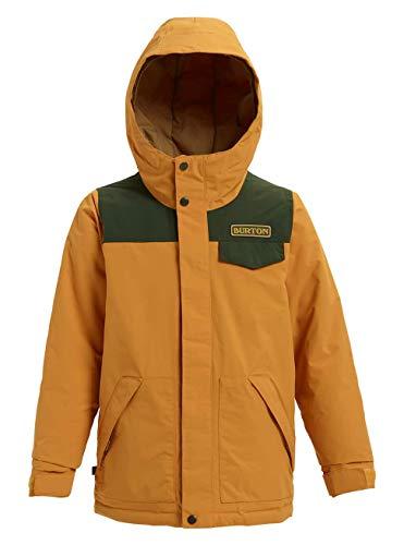 Burton Jungen Dugout Snowboard Jacke, Squashed/Resin, L (Snowboard Jacke Herren Burton)