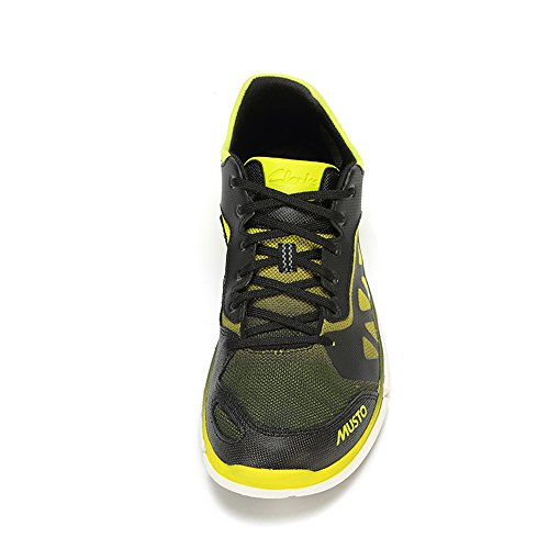 Clarks Tri Lite, Baskets Basses homme Noir (Black/Lime)