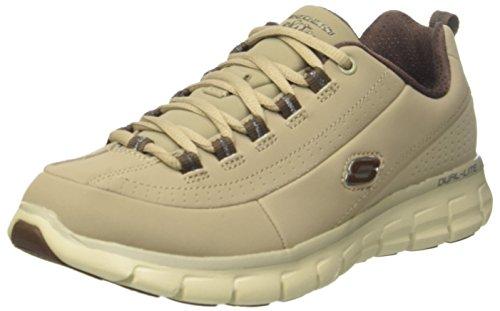 Skechers SynergyTrend Setter, Damen Sneakers, Grau (STBR), 39 EU (6 Damen UK)