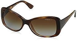 Vogue Gradient Square WomenS Sunglasses - (0Vo2843Sw656T556|56. 3|Polar Brown Gradient)