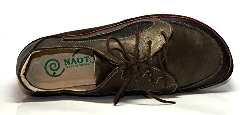 Naot - Hikaru, Damen Schuhe, Halbschuhe Braun (cocoa/dime/comb)