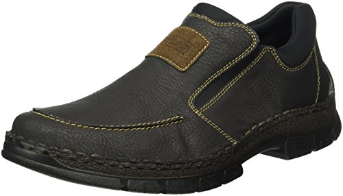 Pantofola Uomo Rieker 12261 Marrone (castagna / Sigaro / Nero / 26)