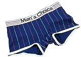 Frauen Große Mädchen Mode Dreieck Boxer Femme Casual Sport Stil Dessous Unterwäsche Damen Baumwolle Knickers Hipster Shorts (L, MBoxer-Marine)