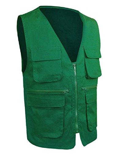 CuteRose Dark Green L Cold Weather Running Jacket