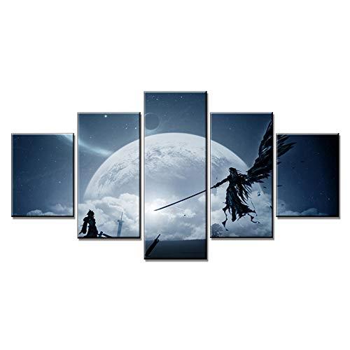 Mural de Imagen Final Fantasy 7 Japón Anime Arte de la...