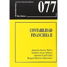 Contabilidad financiera II (Materials didàctics)