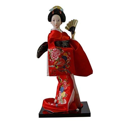 Japanische Geisha Kunst Kimono Puppe Maiko Puppen Sammlerstücke Kreatives Geschenk, # 03
