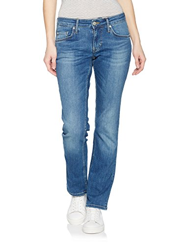 Mustang Sissy Straight, Jeans a Gamba Dritta Donna, Blu (Strong Bleach 535), 33W X 32L